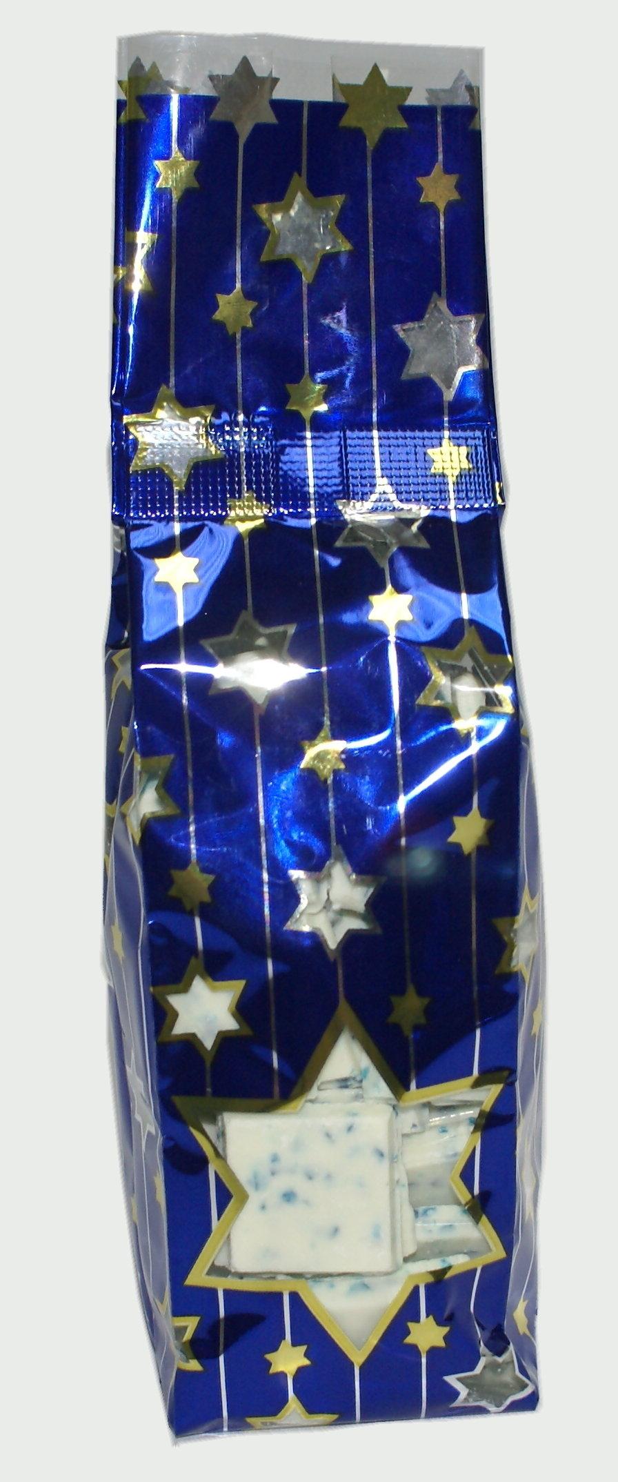 Bark Candy - 1/2 lb. Judaica Bag - Wholesale W-C12J-Judaica Judaica Bag
