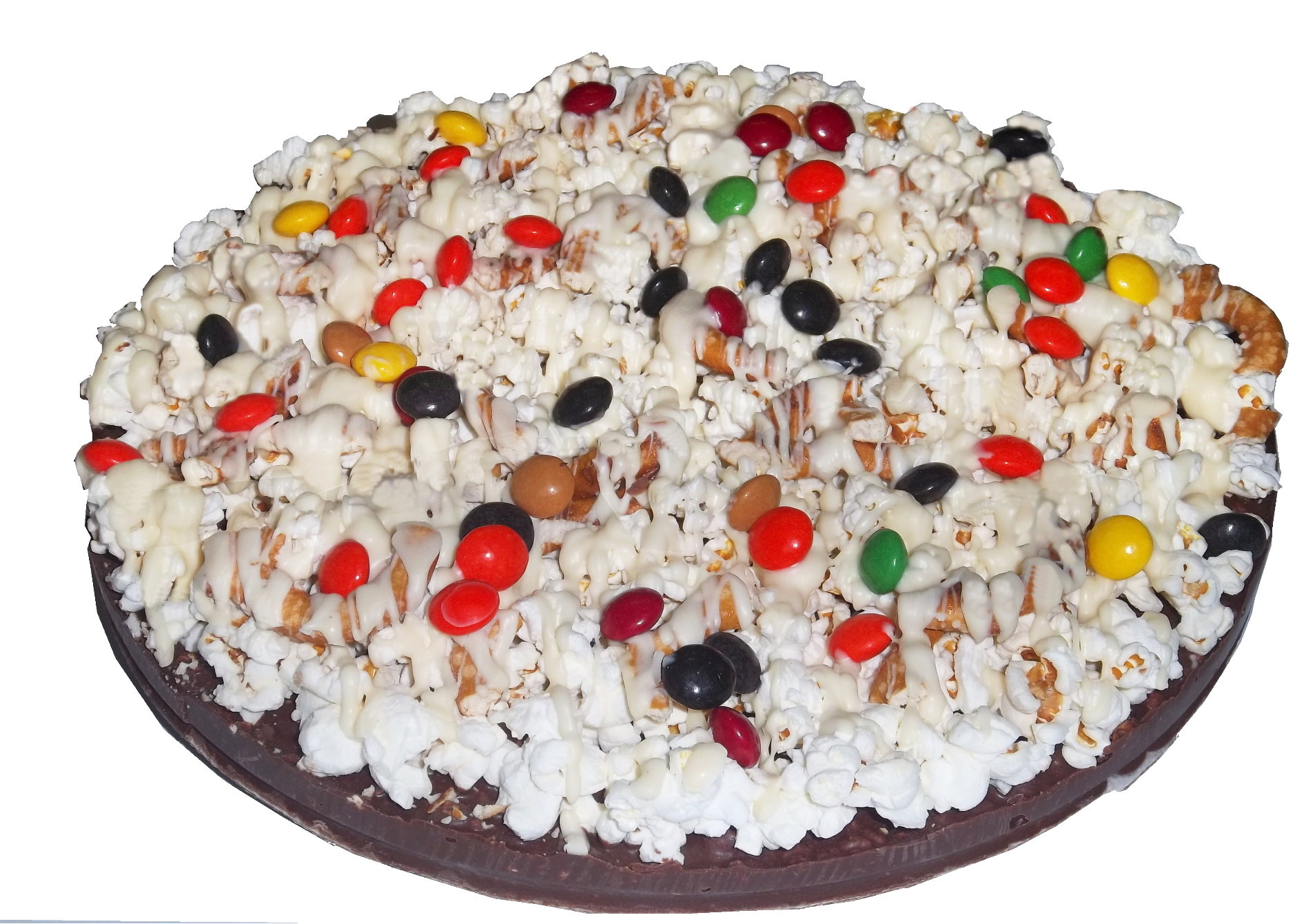 Gourmet Chocolate Pizza - Pizazz™ -  Mini - Gluten Free - Supreme - No Melts - Wholesale W-MIGFSUNM