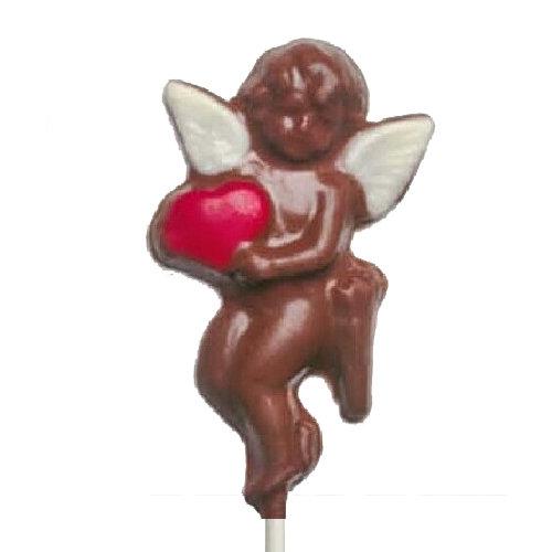 Chocolate Lollipops - Pollylops® - Cupid / Wholesale W-207