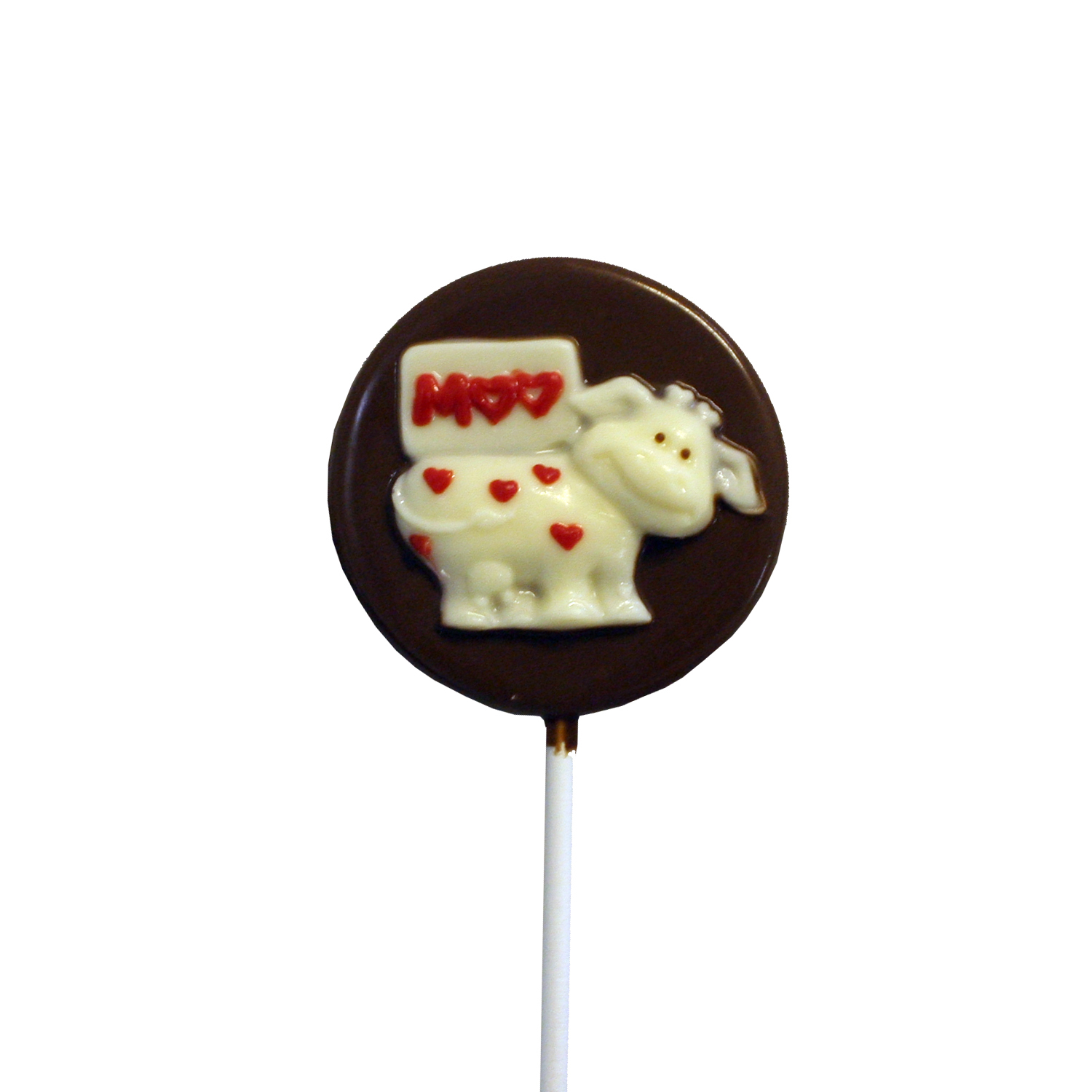 Chocolate Lollipops (Pollylops® Moo Cow) 615