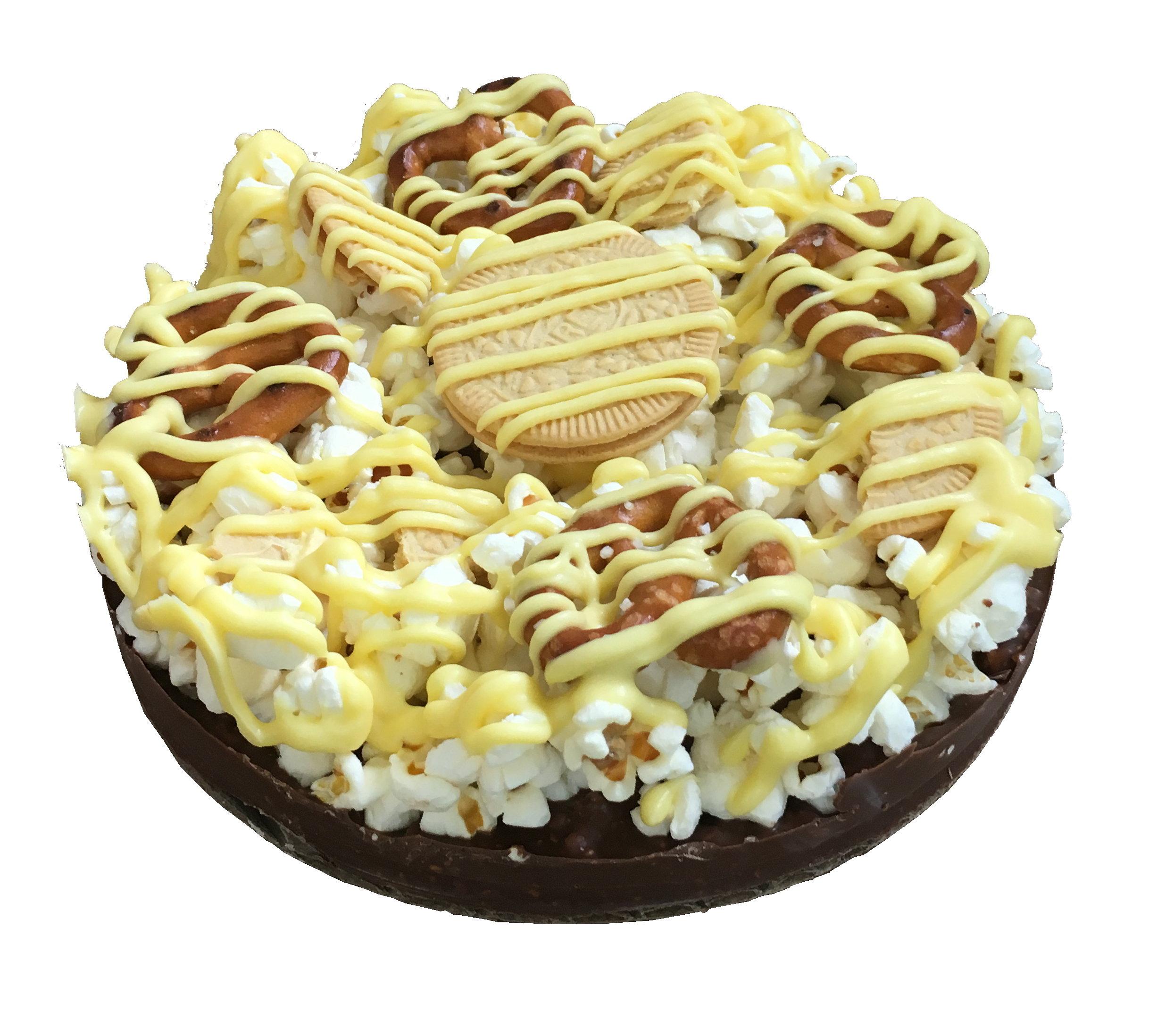 """Gourmet Chocolate Lemon Pizza with Pizazz™( 6"""" Mini with Lemon Oreos) MISULO"""