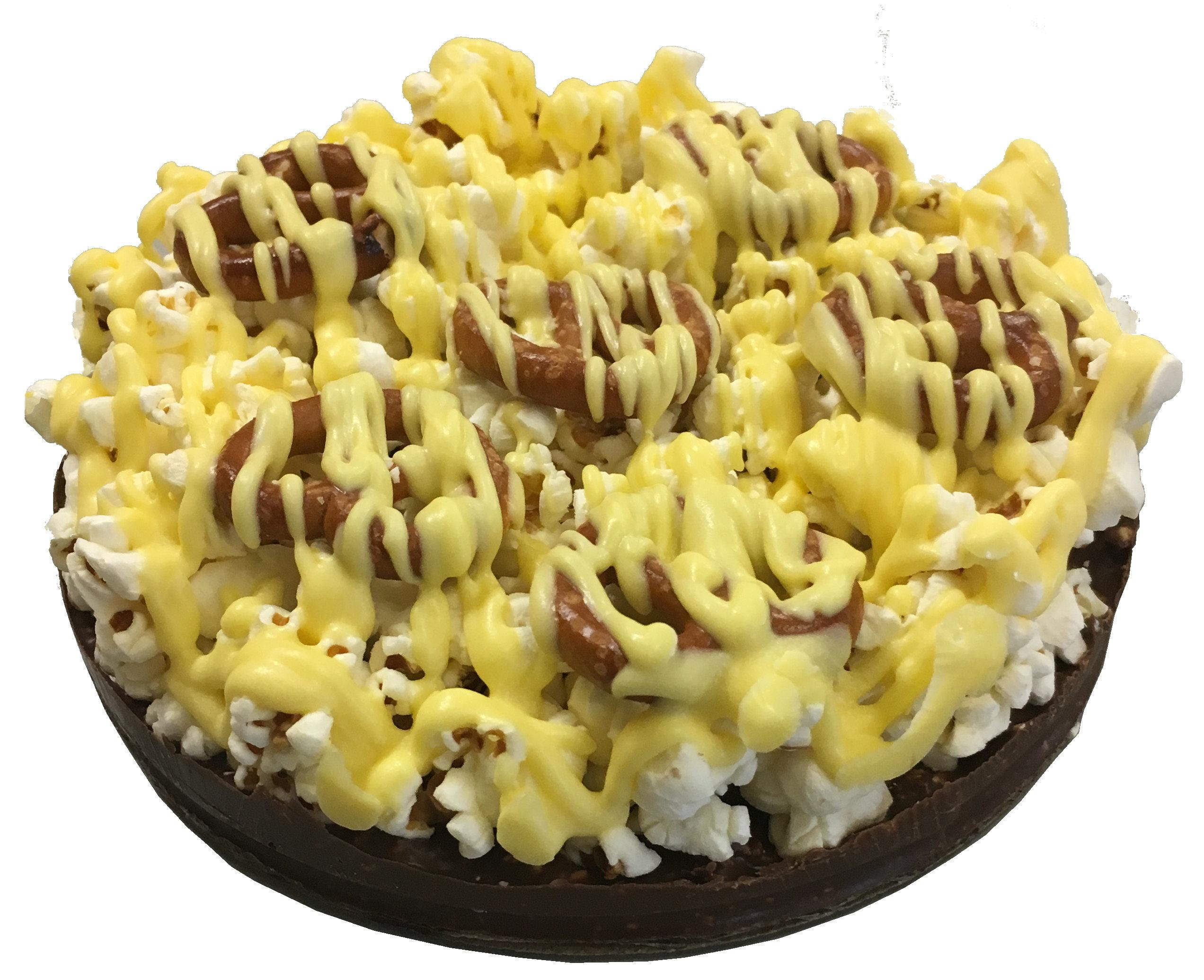 """Gourmet Chocolate Lemon Pizza with Pizazz™ ( 10"""" w/lemon drizzle) PZLE"""