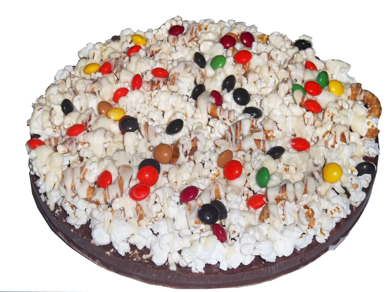 Gourmet Chocolate Pizza with Pizazz 10