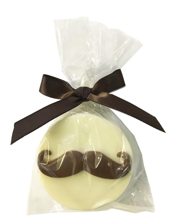 Gourmet Chocolate Molded Oreos® (Mustache)