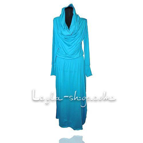 Платье Рабия (голубой)