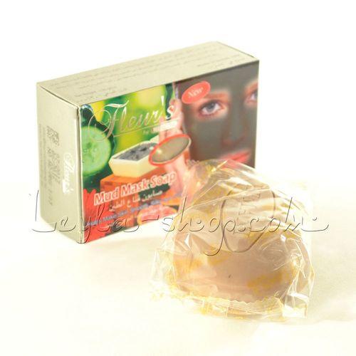 Мыло-маска Hemani - Mud Mask Soap (с грязью Мертвого моря)