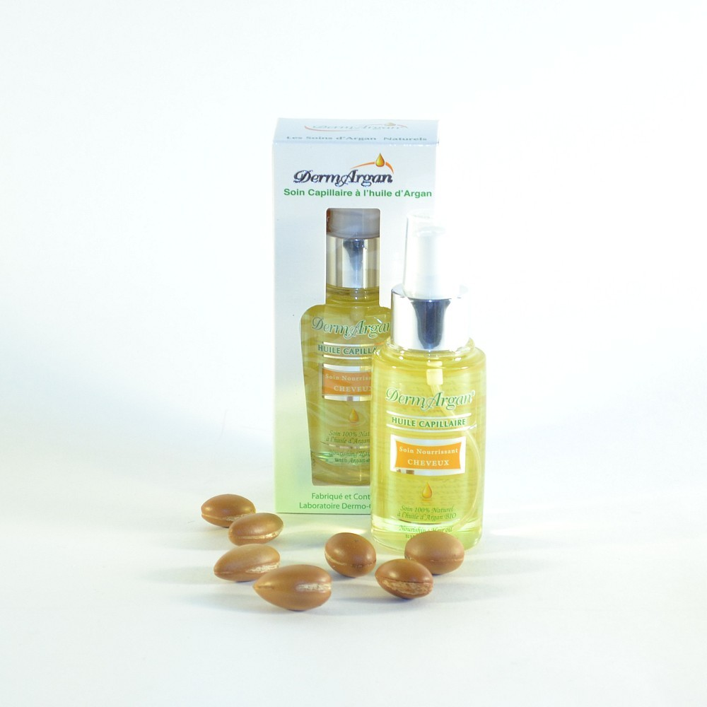 Аргановое масло для волос DermArgan (80 мл)