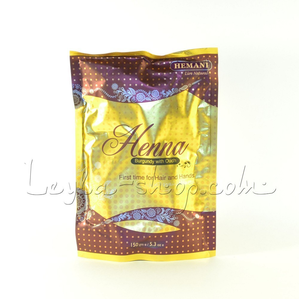 Хна для волос Henna Burgundy with Oudh Hemani