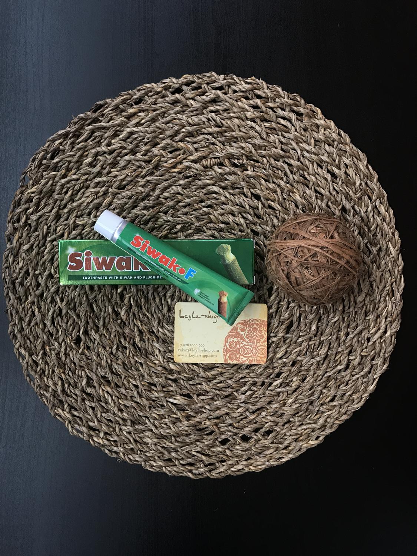 Зубная паста Siwak F + щетка (50гр)
