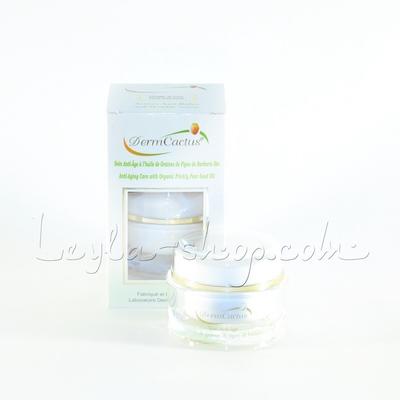 Ночной крем для лица и шеи на основе масла плодов кактуса Опунции DermCactus