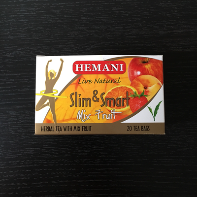 Чай для похудения Herbal Tea Slim &Smart Mix Fruit Hemani