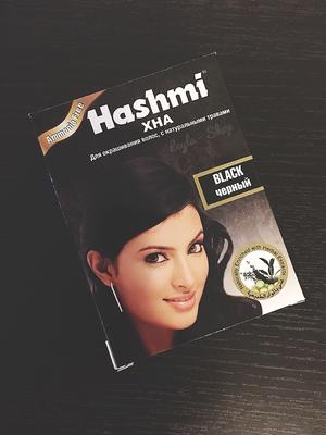 Хна для волос Hashmi Black (черная)