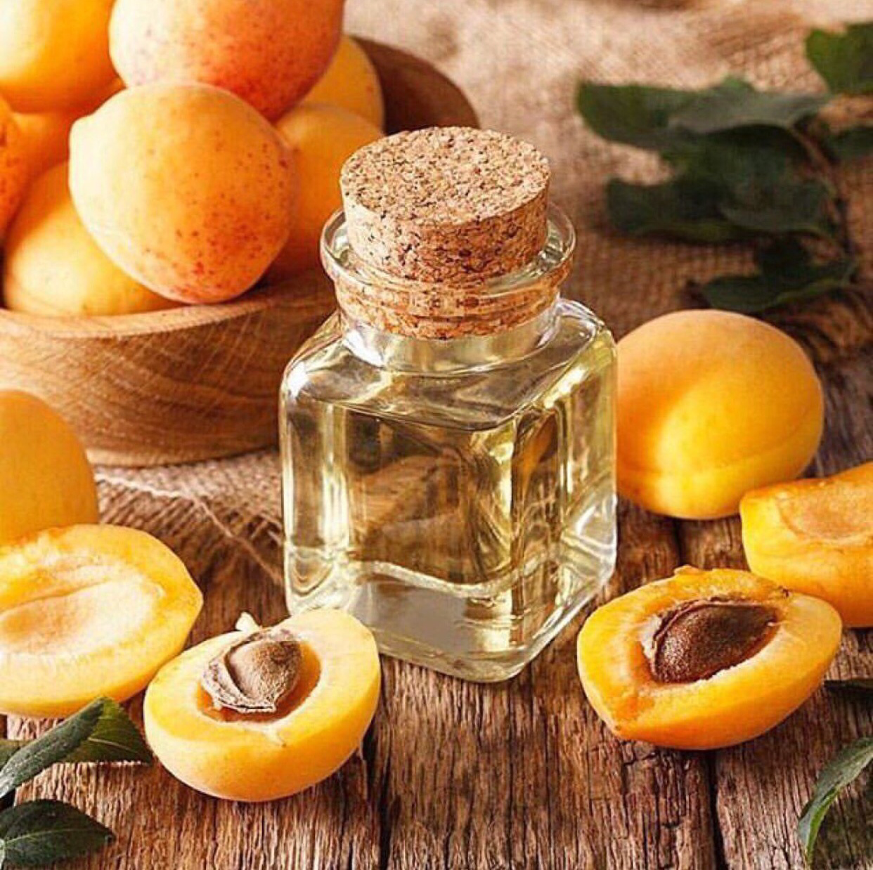 Масло абрикоса Hemani- Apricot oil (30мл)