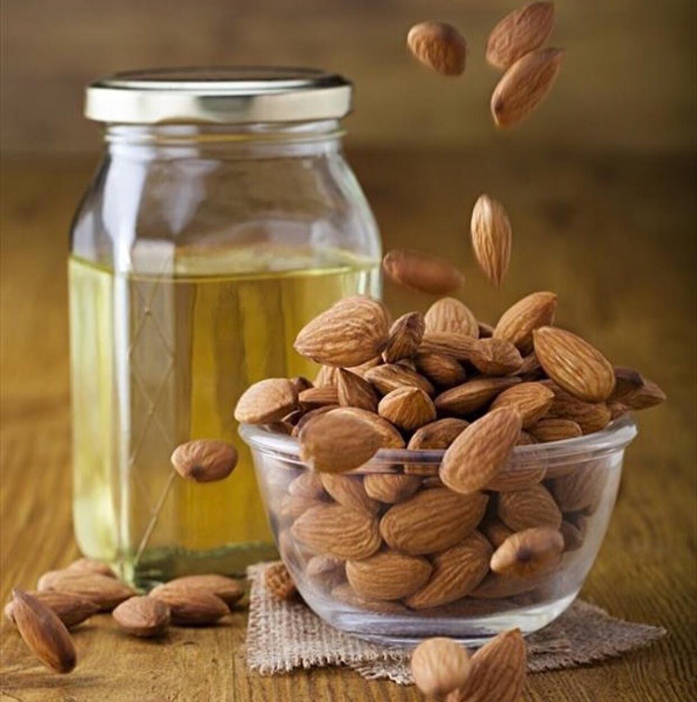 Масло сладкого миндаля Hemani -Sweet almond oil (30мл)
