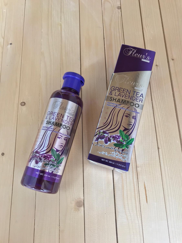 Шампунь Hemani - Green Tea & Lavender  Shampoo (с экстрактом зеленого чая и лаванды)