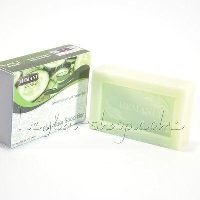 Мыло Hemani - Cucumber Soap Bar (огуречное)