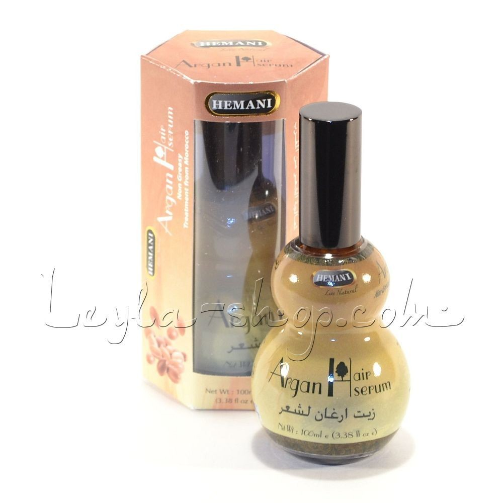 Аргановое масло Argan Hair Serum Hemani