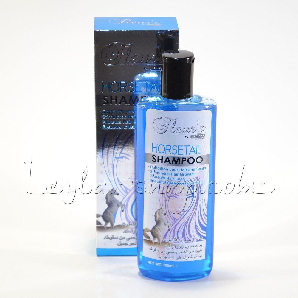 Шампунь Hemani - Fleurs Horsetail Shampoo (конский хвост)