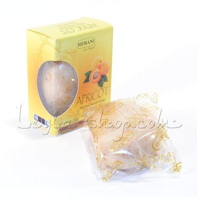 Мыло Hemani - Apricot Herbal Scrub Soap (мыло скраб с абрикосом)