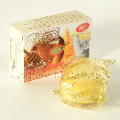 Мыло Hemani - Milk and Honey Soap (с молоком и медом)