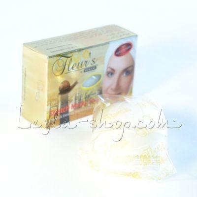Мыло Hemani - Stretch Marks Soap (с экстрактом улитки для предотвращения растяжек и шрамов на коже)