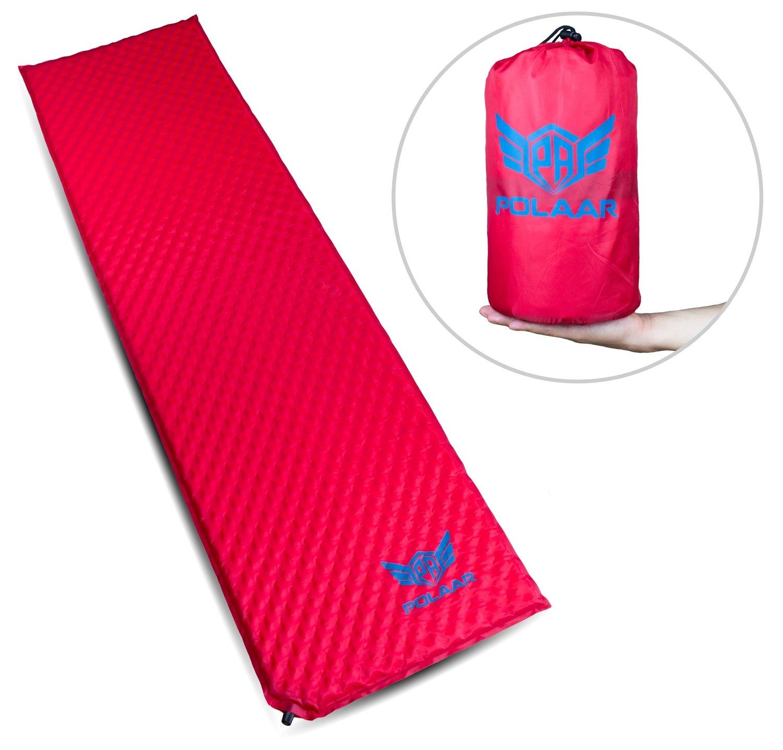 Selbstaufblasende Isomatte / Luftmatratze, 180 cm, Kleinstes Packmaß, Ultraleicht, kompakt und robust, isoliert, für erholsamen und bequemen Schlaf