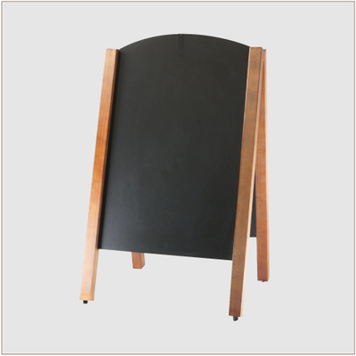 Black Board Curved