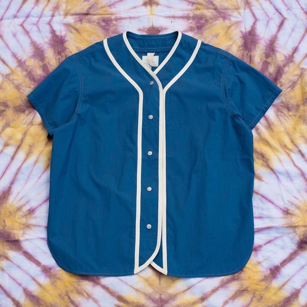 W'menswear All-Girl's League Shirt in Blue AGL-B