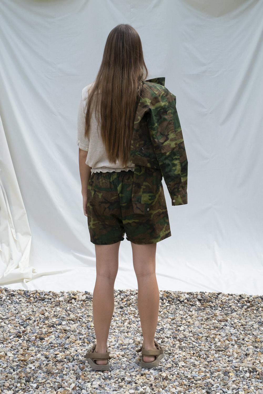 W'menswear Mess Shorts in Camo