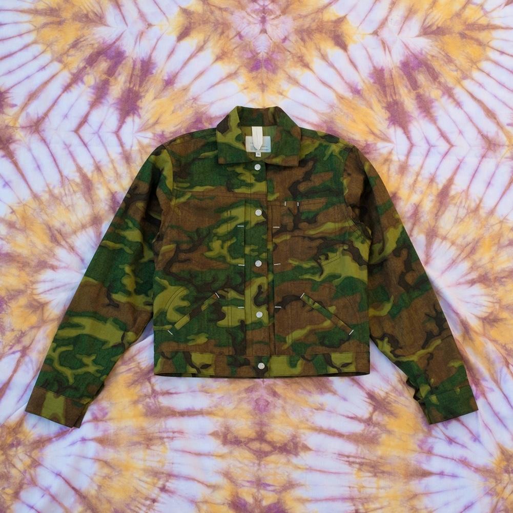 W'menswear Striker's Jacket in Camo STRIKE-F