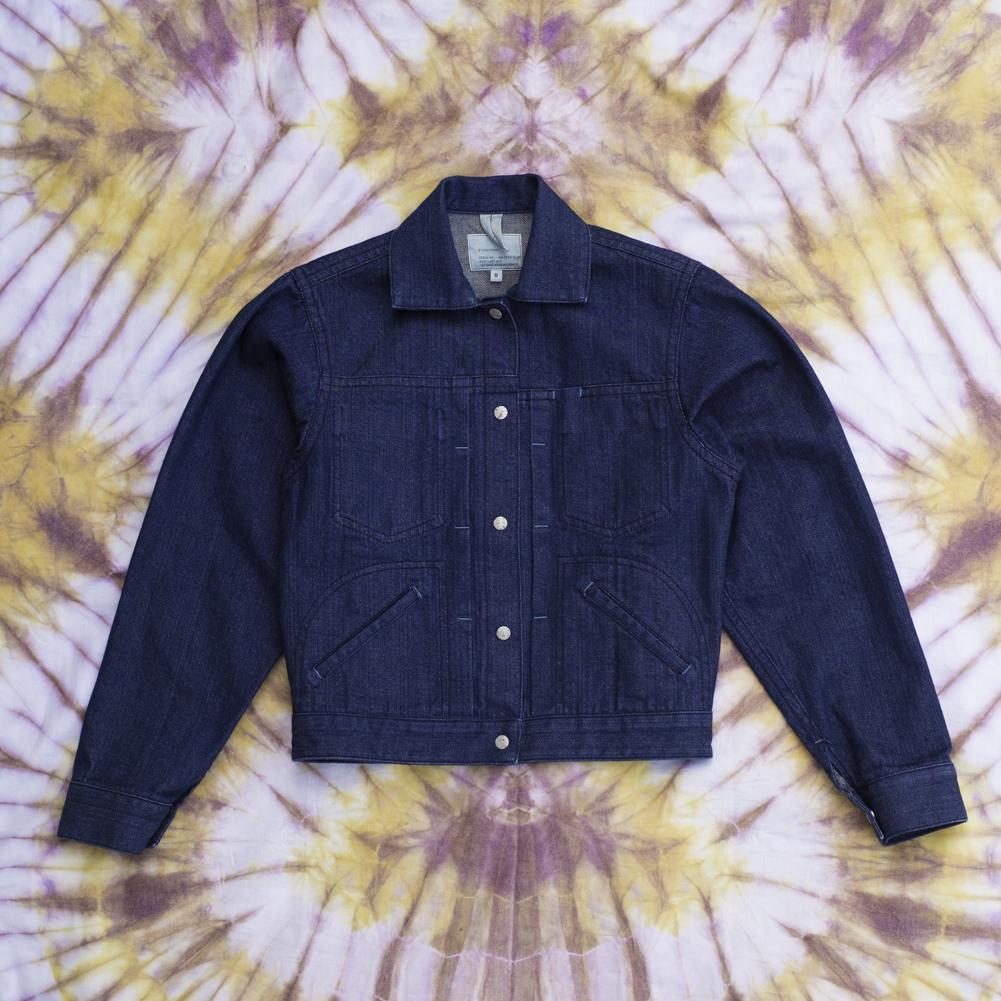 W'menswear Striker's Jacket in Denim STRIKE-D