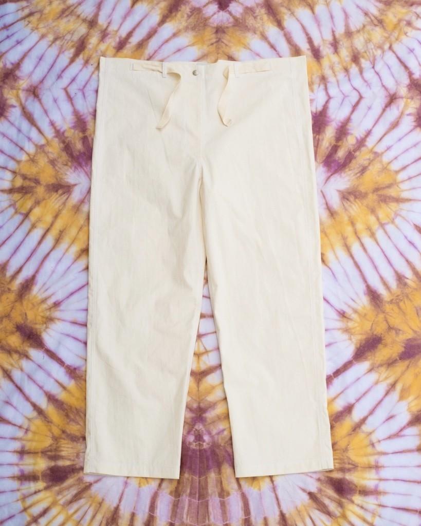 W'menswear Mess Pants in Off White