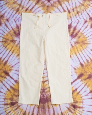 W'menswear Mess Pants in Off White