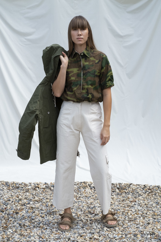 W'menswear Tropical Combat Pants