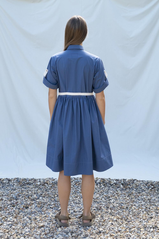 W'menswear Field Aid's Dress in Blue