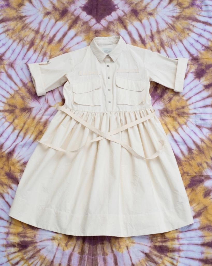 W'menswear Field Aid's Dress in Off White FAD-W