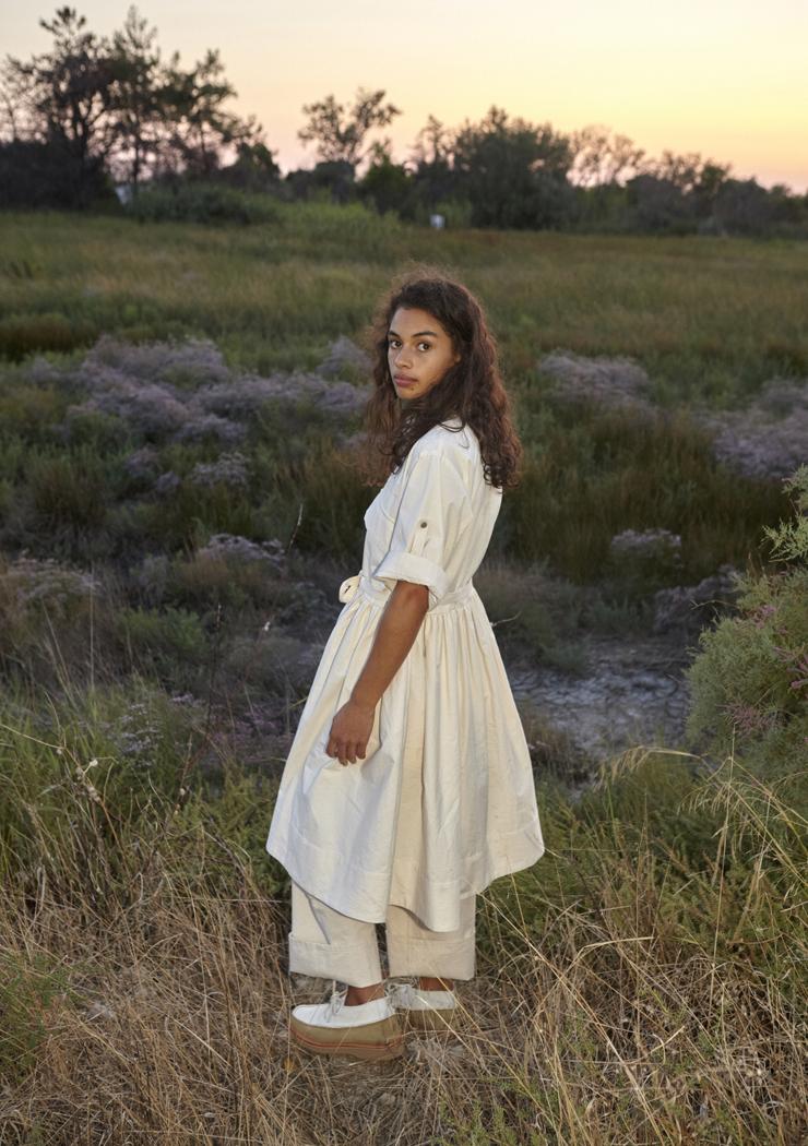 W'menswear Field Aid's Dress in Off White