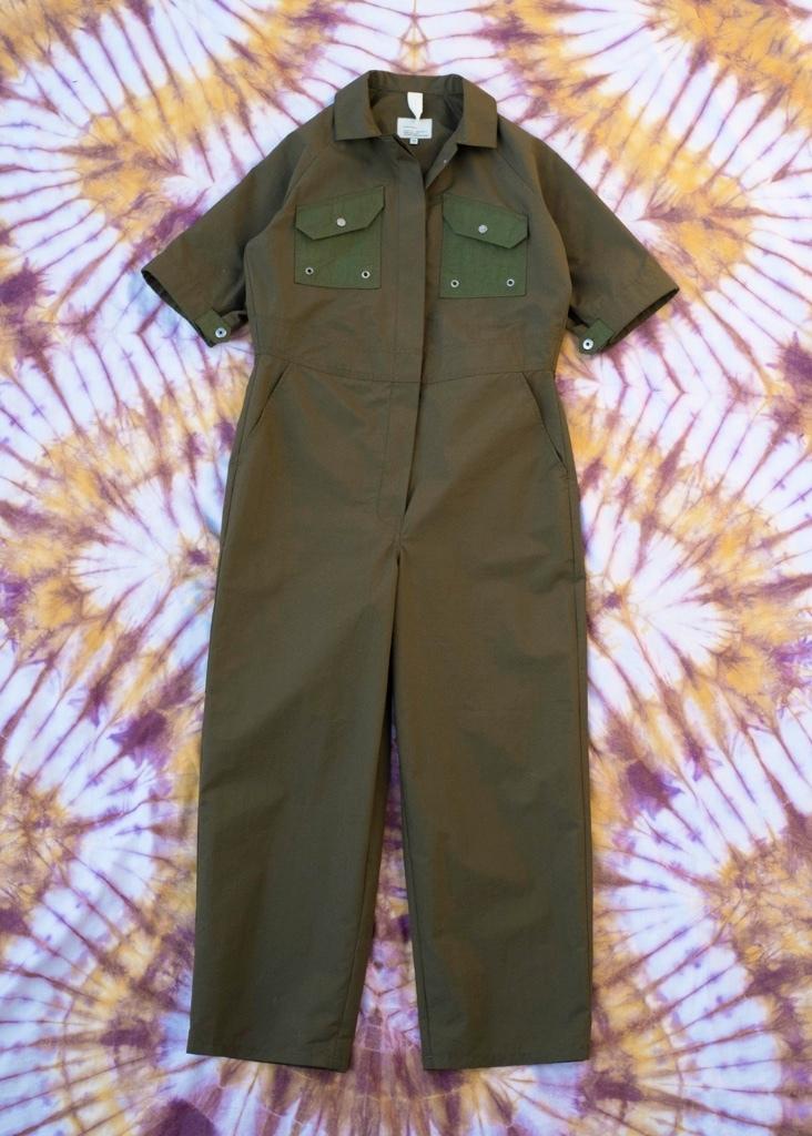 W'menswear Tropical Fieldwork Suit in Green TFWS-G