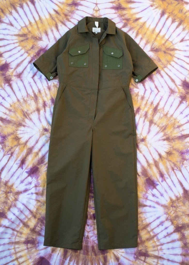 W'menswear Tropical Fieldwork Suit in Green