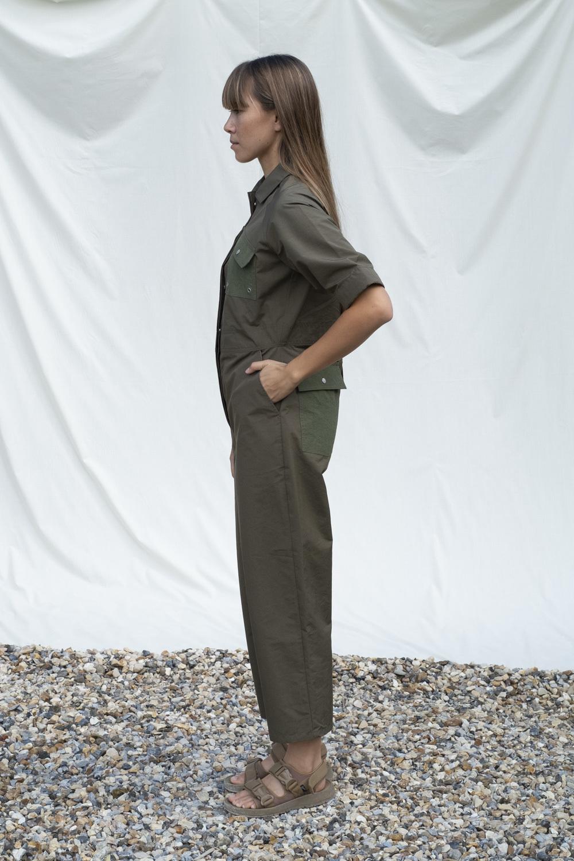 W'menswear Tropical Fieldwork Suit in Green