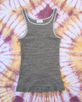 W'menswear Combat Tank in Grey