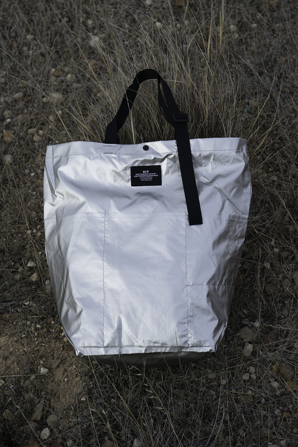 BIP Carry-All Tote in Silver BIP001TF