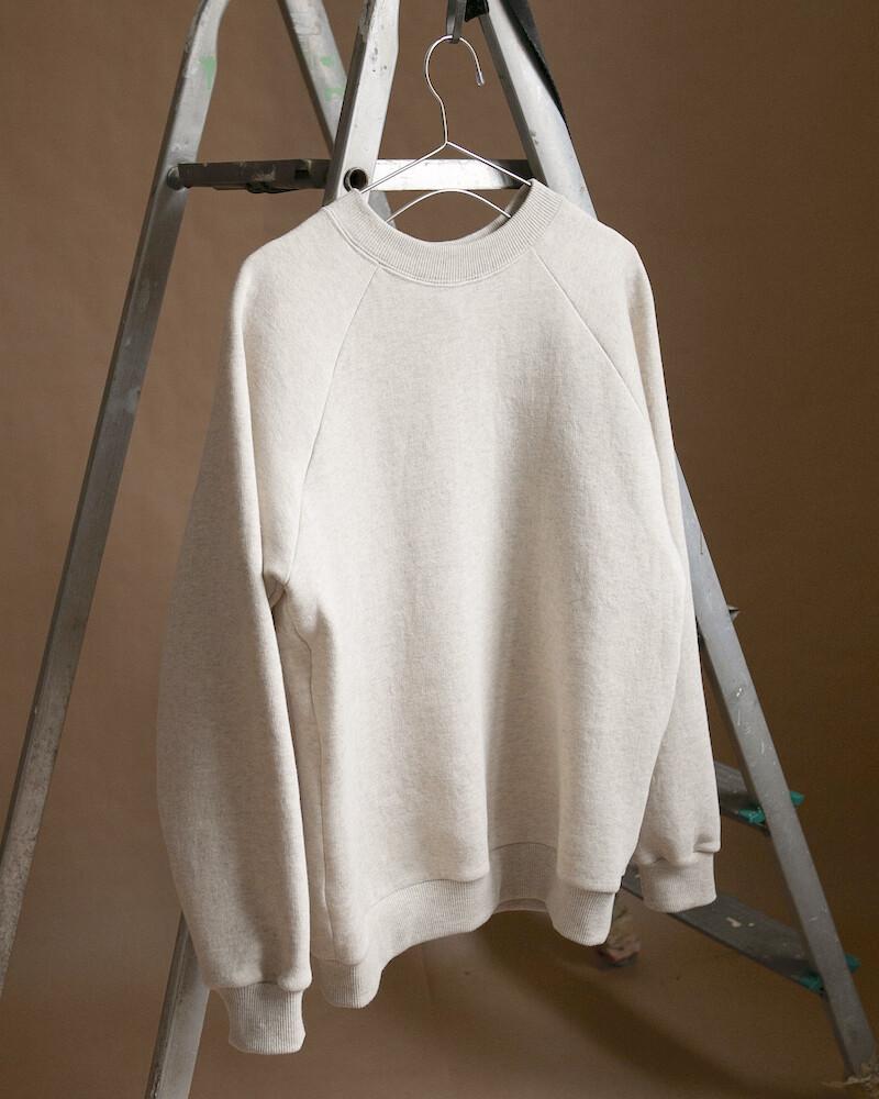 W'MENSWEAR Sweatshirt in Oatmeal