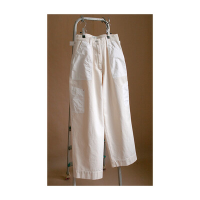 W'MENSWEAR FLIGHT PANTS IN VINTAGE CANVAS
