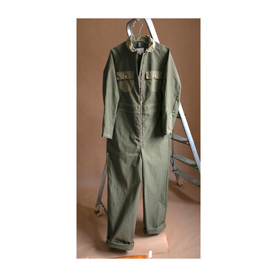 W'MENSWEAR LAUNCH COVERALL IN KHAKI