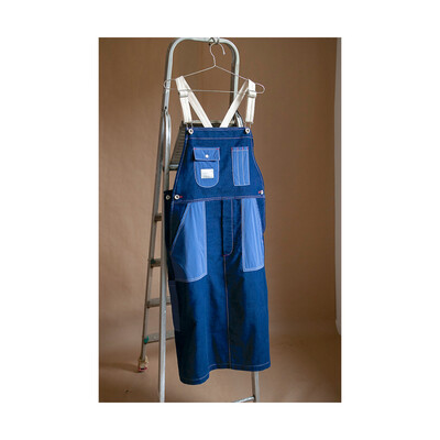 W'MENSWEAR ROCKET OVERALL IN INDIGO