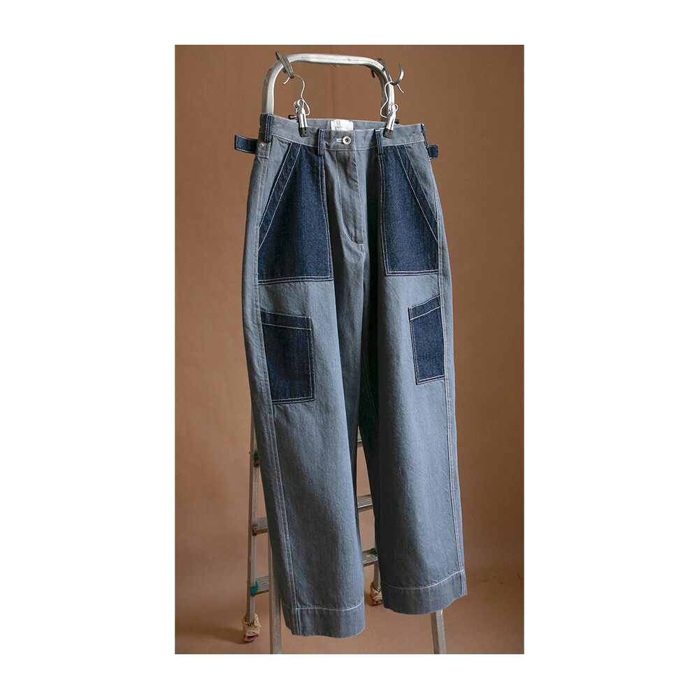 W'MENSWEAR FLIGHT PANTS IN GREY