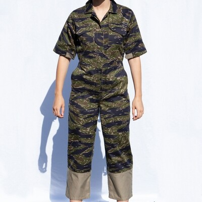 W'MENSWEAR RESEARCH COVERALL IN CAMO