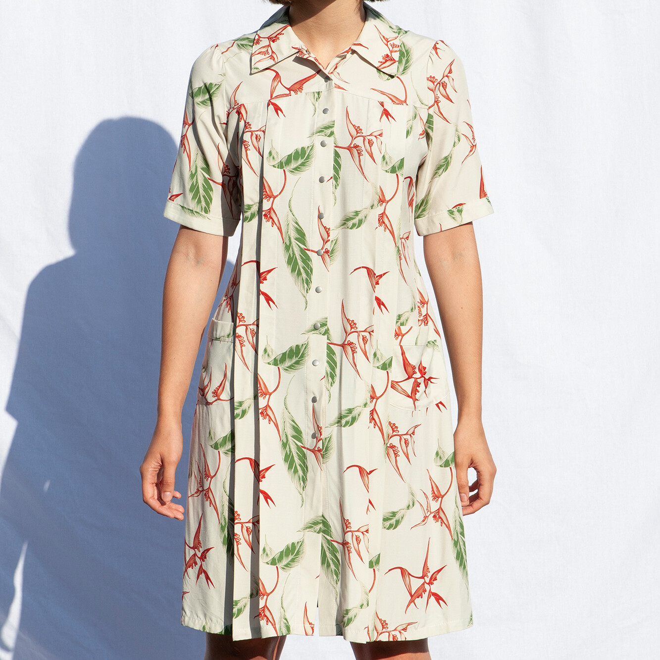 W'MENSWEAR ALOHA OFF-DUTY DRESS