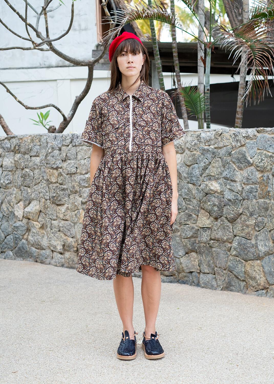W'MENSWEAR LIMITED EDITION FIELD DRESS IN PAISLEY
